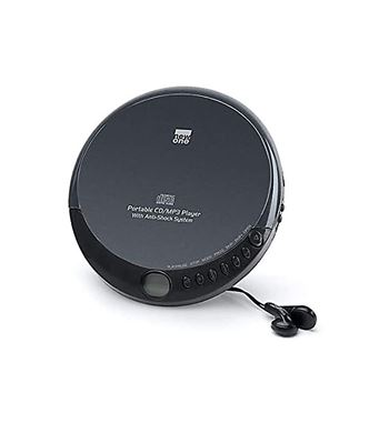 New One Discman Mp3 Anti-Shock con Auriculares D900 - D900_B00