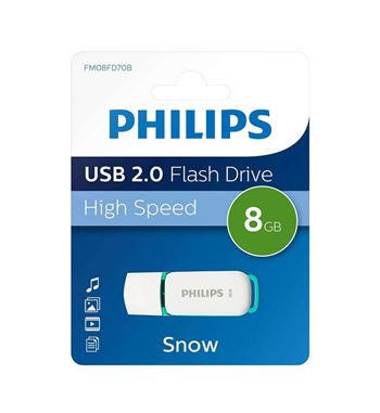 Pen Drive 008Gb Usb 2.0 Philips - DTI-8G-20