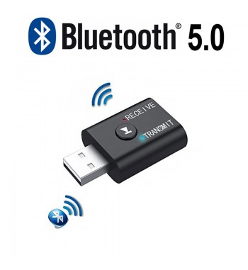 Adaptador Receptor Emisor Bluetooth 5.0 USB Audio WF001