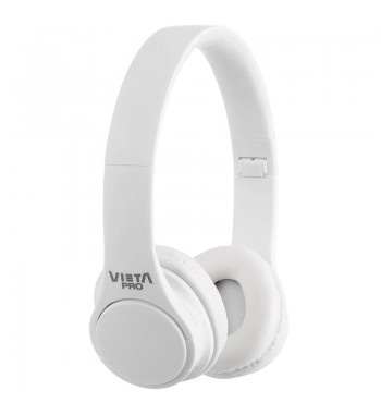 Vieta Auricular Casco Bluetooth Radio Fm VHP-BT120 blanco