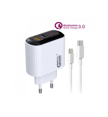 Gmr Caragador Movil If PD 18w C/Cable 3.0 CH-2601 - CH2601