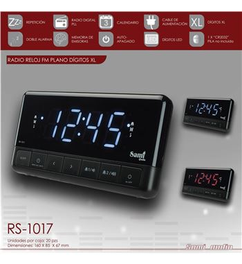 Sami Radio Reloj Display Gr RS-1017 - RS-1017