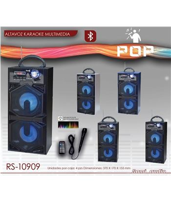 Sami Altavoz Karoke Bt Usb Sd Rd Pop RS-10909 - RS-10909