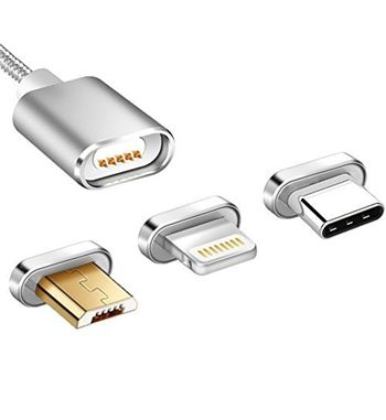 Cable Magnetico para Cargar Movil Micro USB/Type-C/IPhone - FSD1456