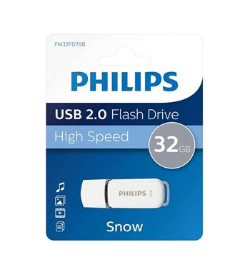 Pen Drive 032Gb Usb 2.0 Philips DTI-32G - DTI-32G-20