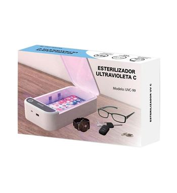 Uvc Ultaviolet Multifunctional disinfection box - UVC-BOX_B
