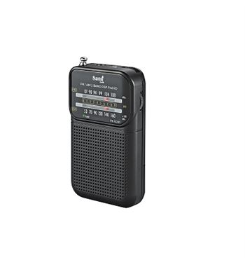 Sami Radio Mini Clip Metal Con Aur AM/FM RS-12203 - RS-12203