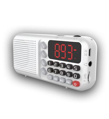 Sami Radio Digital FM a Batería USB Micro-SD RS-12602 - RS-12602_B00