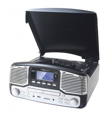 Nevir Tocadiscos Radio Cd Usb Encoding Retro NVR-812 - NVR-812