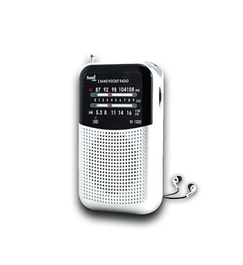 Sami Radio Mini Clip Metal Con Aur AM/FM RS-12202 - RS-12202