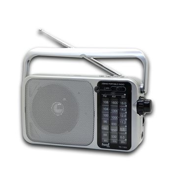 Sami Radio Ac/Dc Usb /Sd Recargable/Pilas RS-11802 - RS-11802