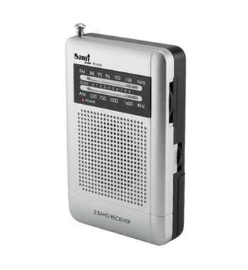 Sami Radio Am/Fm Mini Vertical C/Aur RS-2960 - RS-2960_B