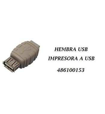 Cable Adaptador USB/USB Impresora 486100153 - 486100153