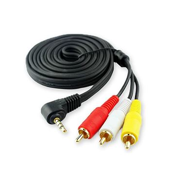 Cable Jack a 3 Rca Audio y Video WIR275 - WIR275_B