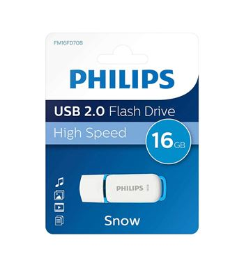 Pen Drive 016Gb Usb 2.0 Philps DTI-16G - DTI-16G-20