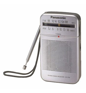 Panasonic Radio Portatil Vertical Am/Fm RF-P50 - RF-P50