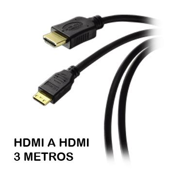 Cable Hdmi M a Hdmi M 3mt 19pin V 1.4 WIR923 - H03 221268