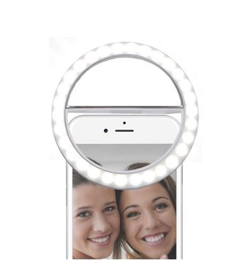 Digivolt Anillo Led Regulable para Selfie Mini AL-4461 - AL-4461_B00