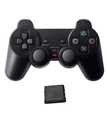 Mando Playstation PS3 PS2 Y PC Inalámbrico GM054 - GM054_B00
