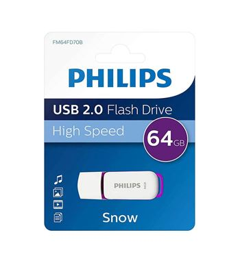 Pen Drive 64Gb 2.0 - PHILIPS PEN 64GB